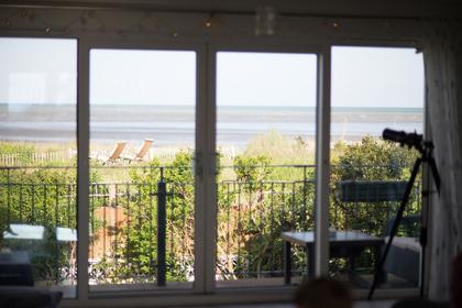dunes view living room